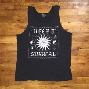 Cut T-shirt tank top, grungy, urban outfitters
